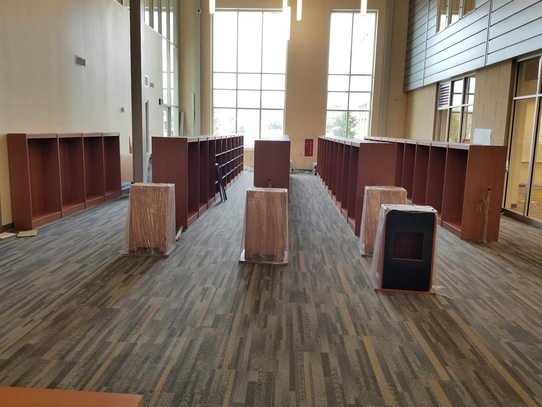 Media Center Reading Area