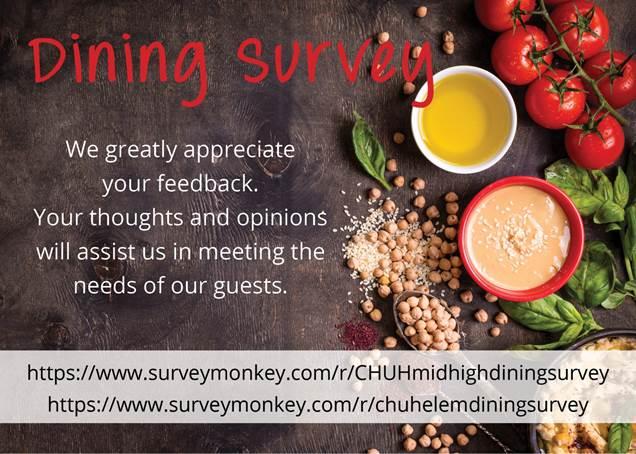 CH-UH Dining Survey