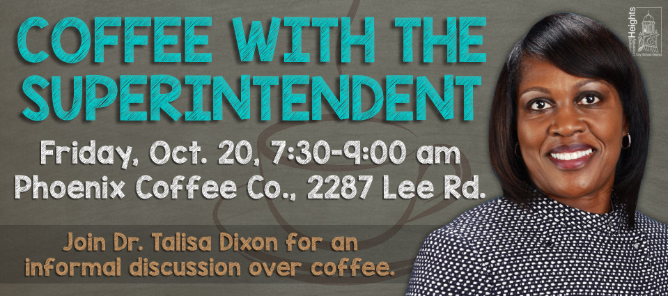 Coffee With The Superintendent - Oct. 20, 2017