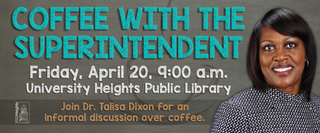 Coffee with the Superintendent graphic