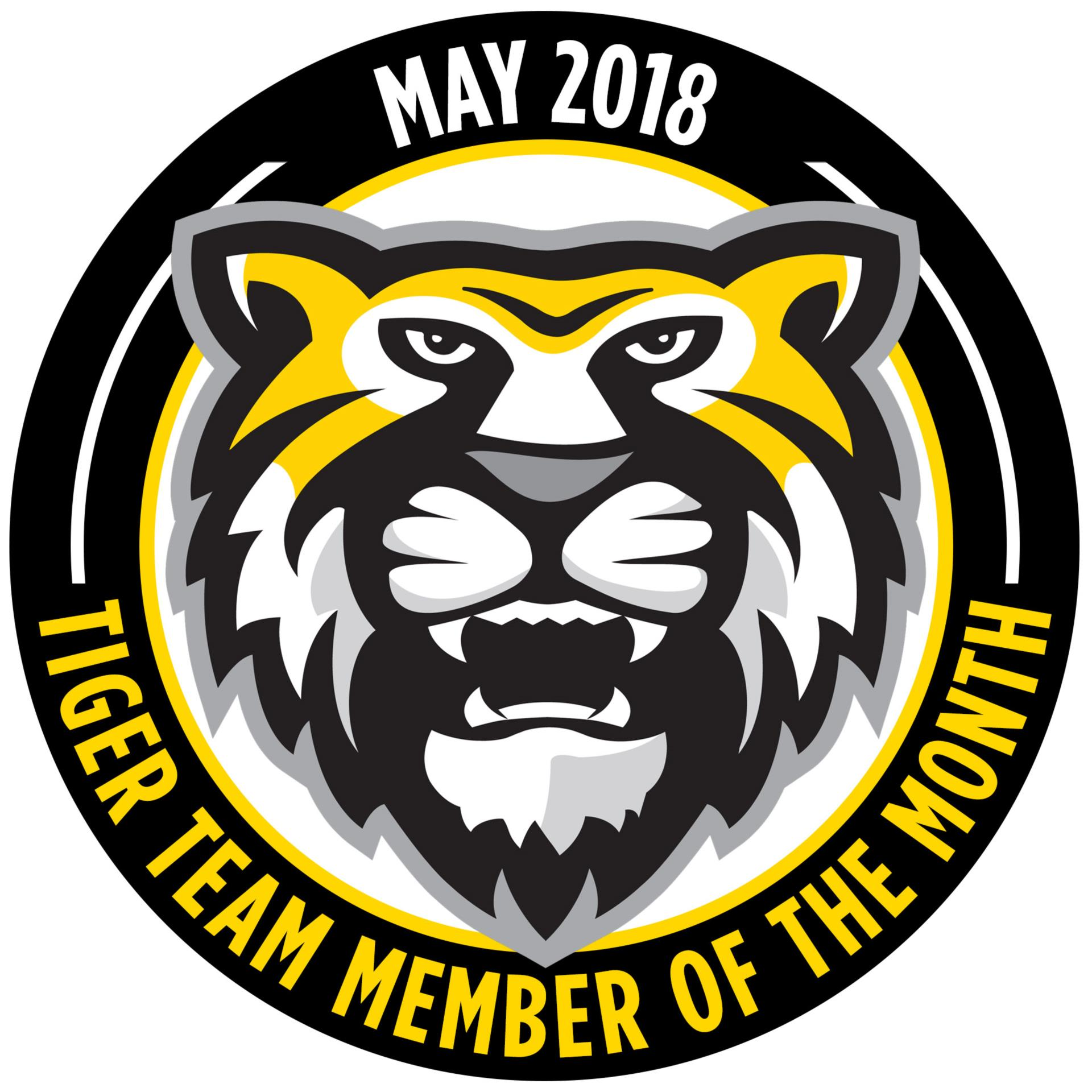 Tiger Team Members of the Month - November 2018