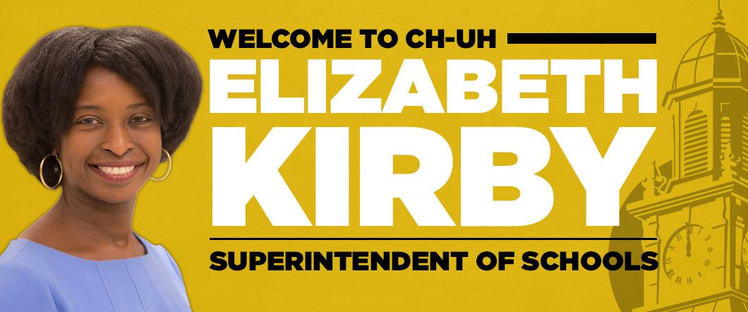 New superintendent Elizabeth Kirby