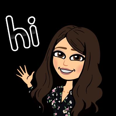 Bitmoji says Hi!