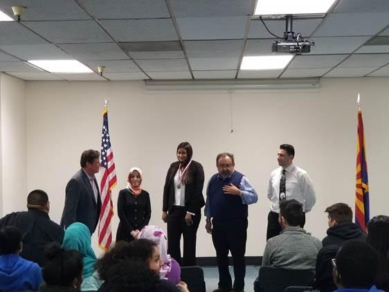 shakila gets award