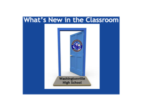 What's New in the classroom