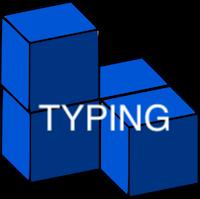 Typing Brick Game