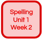 SPELLING UNIT 1 WEEK 2