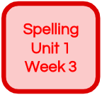 SPELLING UNIT 1 WEEK 3