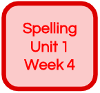 SPELLING UNIT 1 WEEK 4