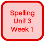 SPELLING UNIT 3 WEEK 1