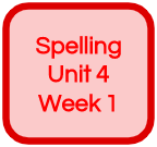 SPELLING UNIT 4 WEEK 1