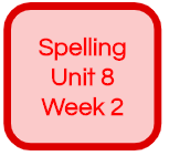 SPELLING UNIT 8 WEEK 2