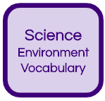 Science Environment Vocabulary