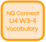 NG Connect U4 W3-4 Vocabulary