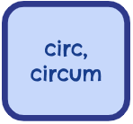 Root Words - Circ, Circum