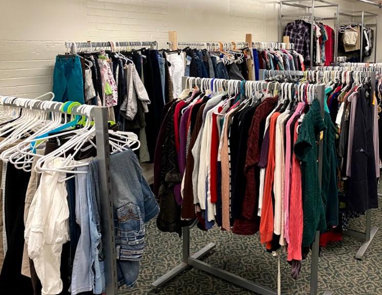 clothes at Ruthy's closet