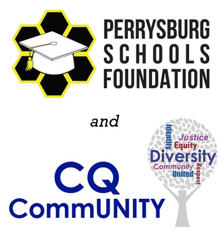 PSF & CQ CommUNITY logos