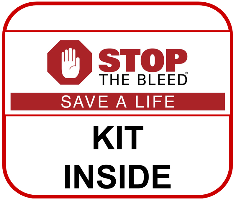 Stop the Bleed sign