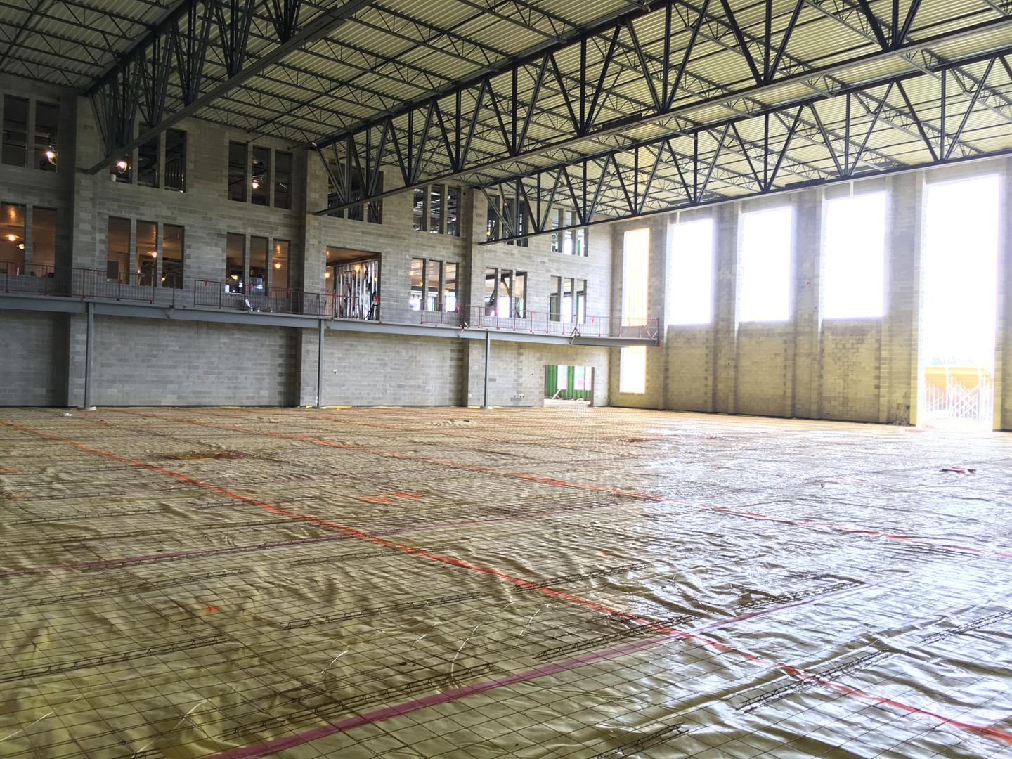 Competition Gym Prep for Slab-On-Grade