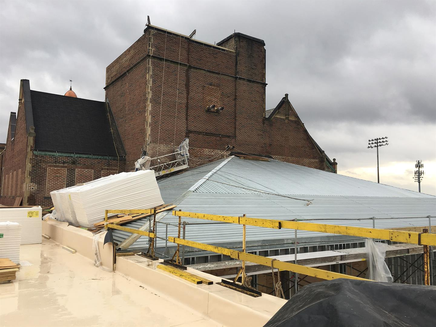 Gable Roof Installation