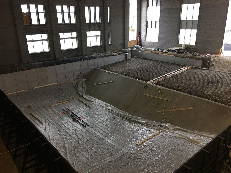 Pool Floor Prep