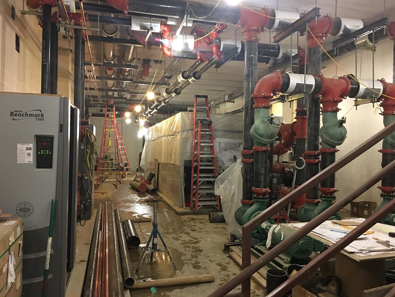 Washington Level Mechanical Room