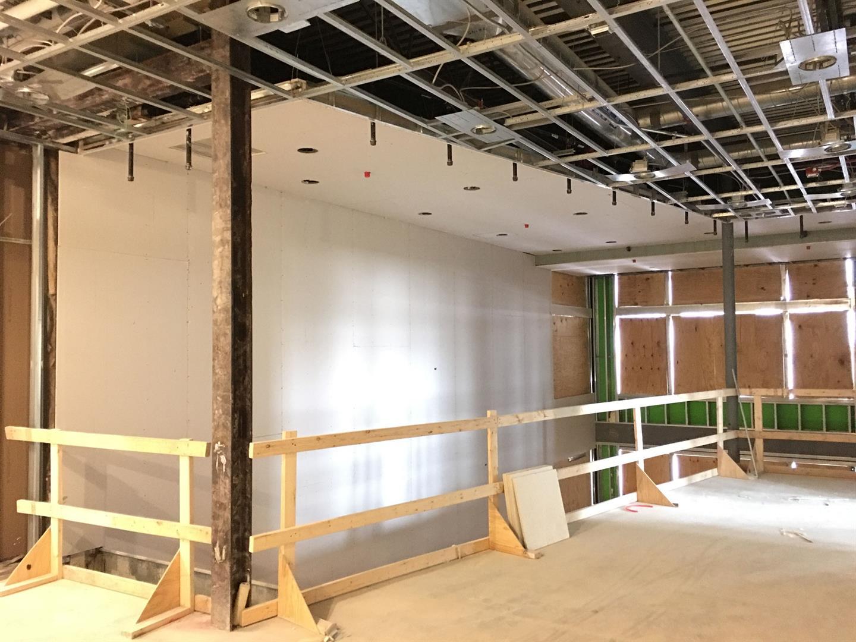 3rd Floor Gypsum Board Installation