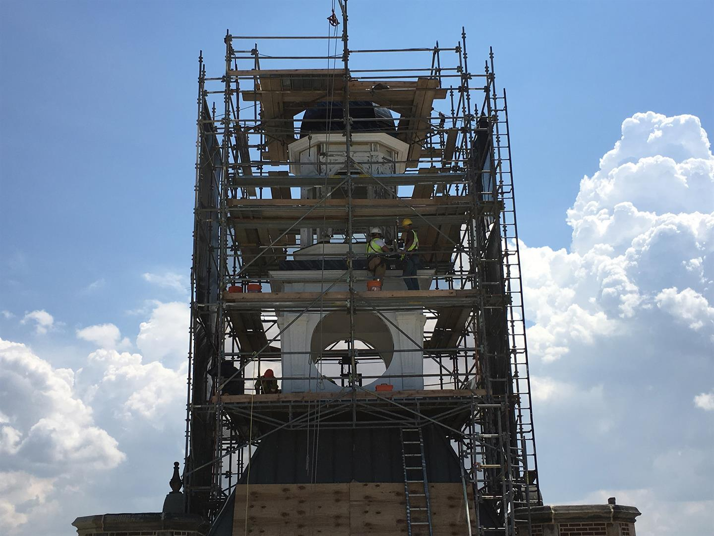 Heights High Clock Tower Restoration