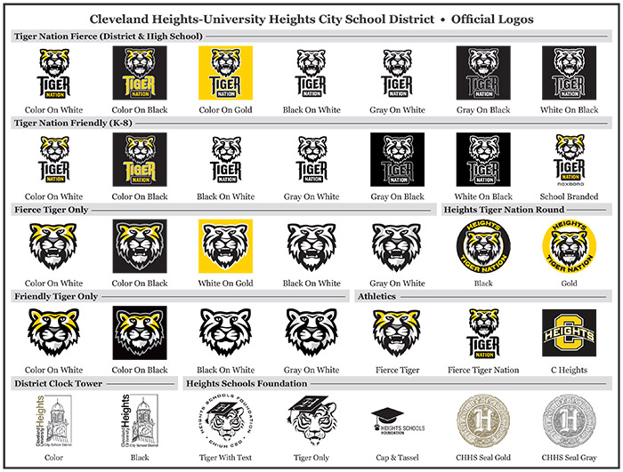 CHUH Logo Brand Standards