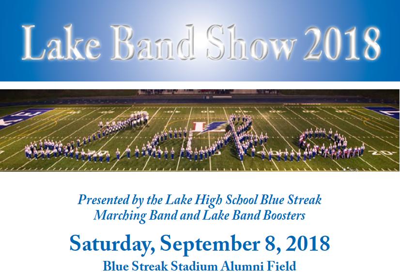 Lake Band Show 2018