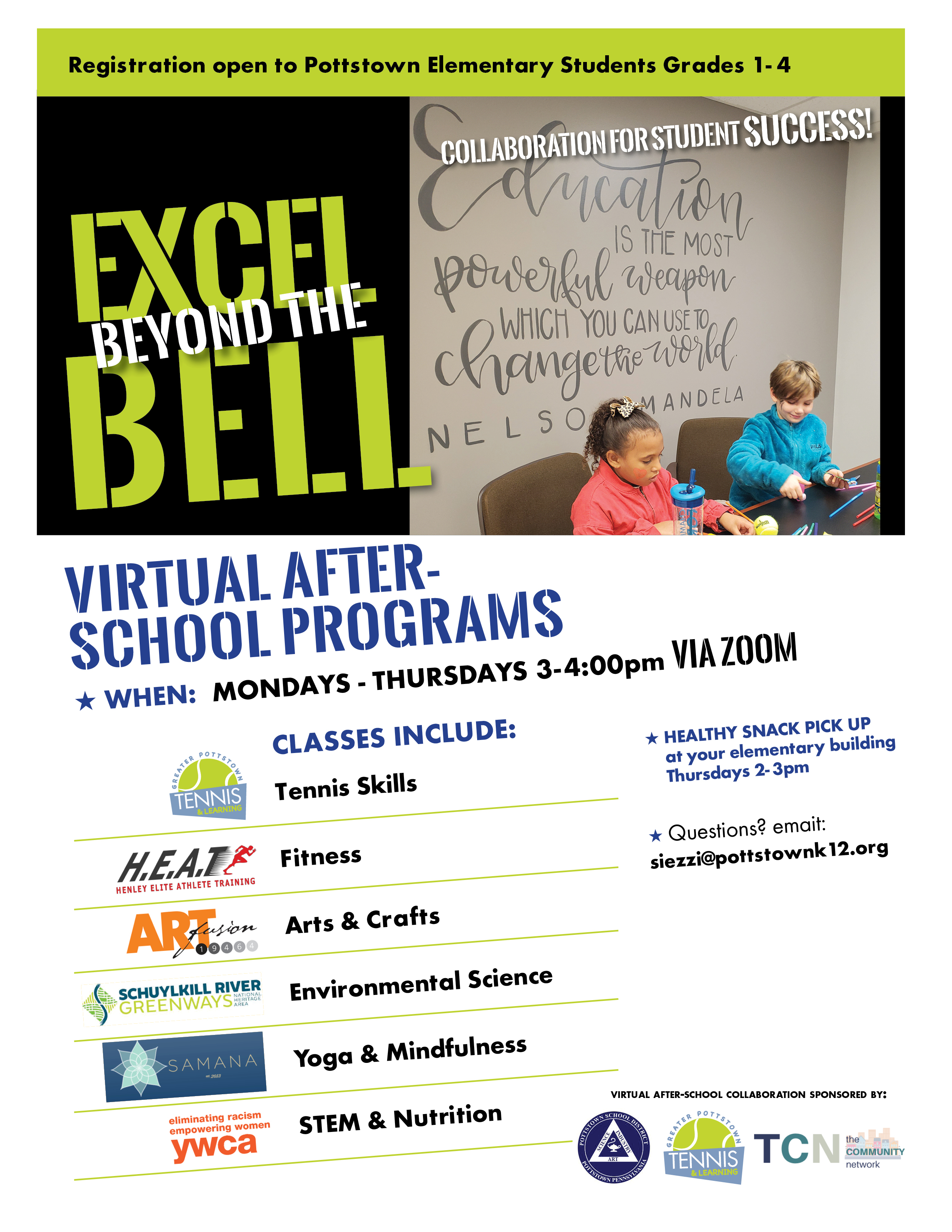 EXCEL BEYOND THE BELL