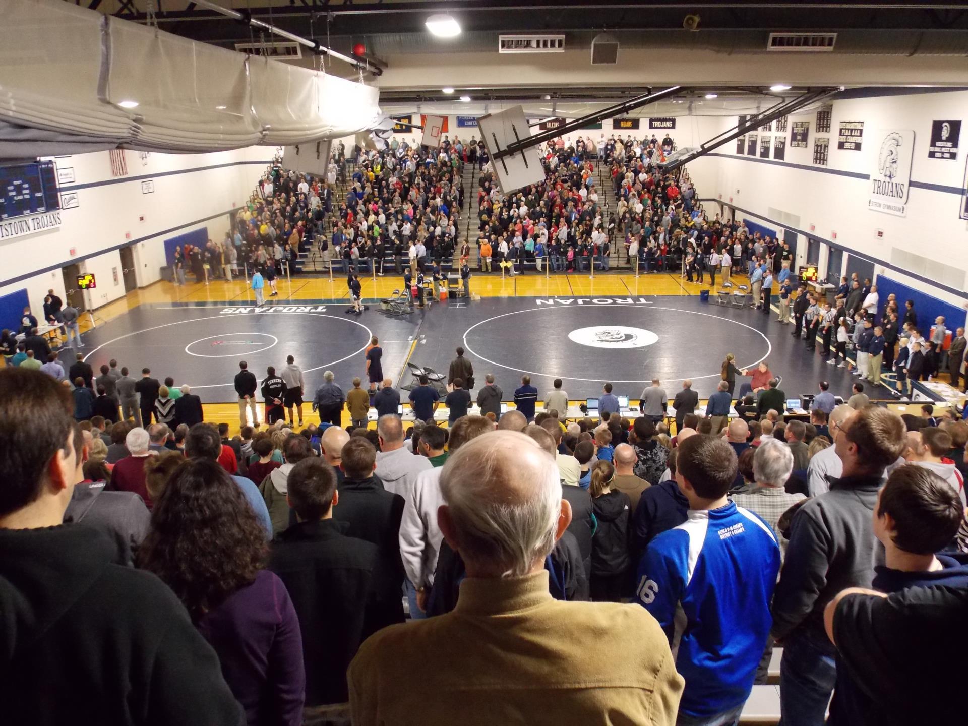 crowd at psd tournament