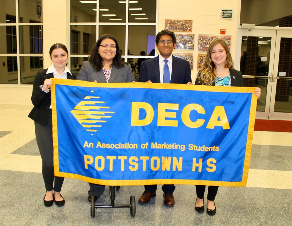 DECA inductions