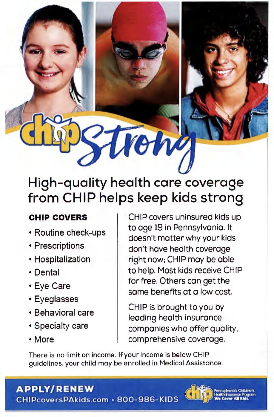 Chip Coverage English