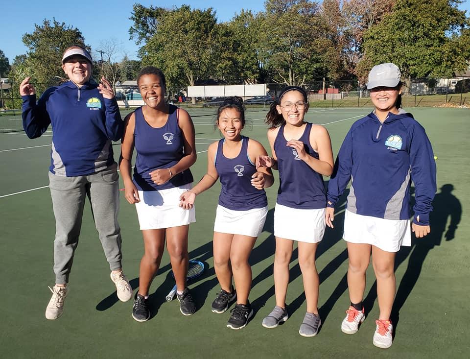 PHS tennis team