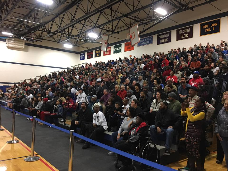 crowd at psd tournament