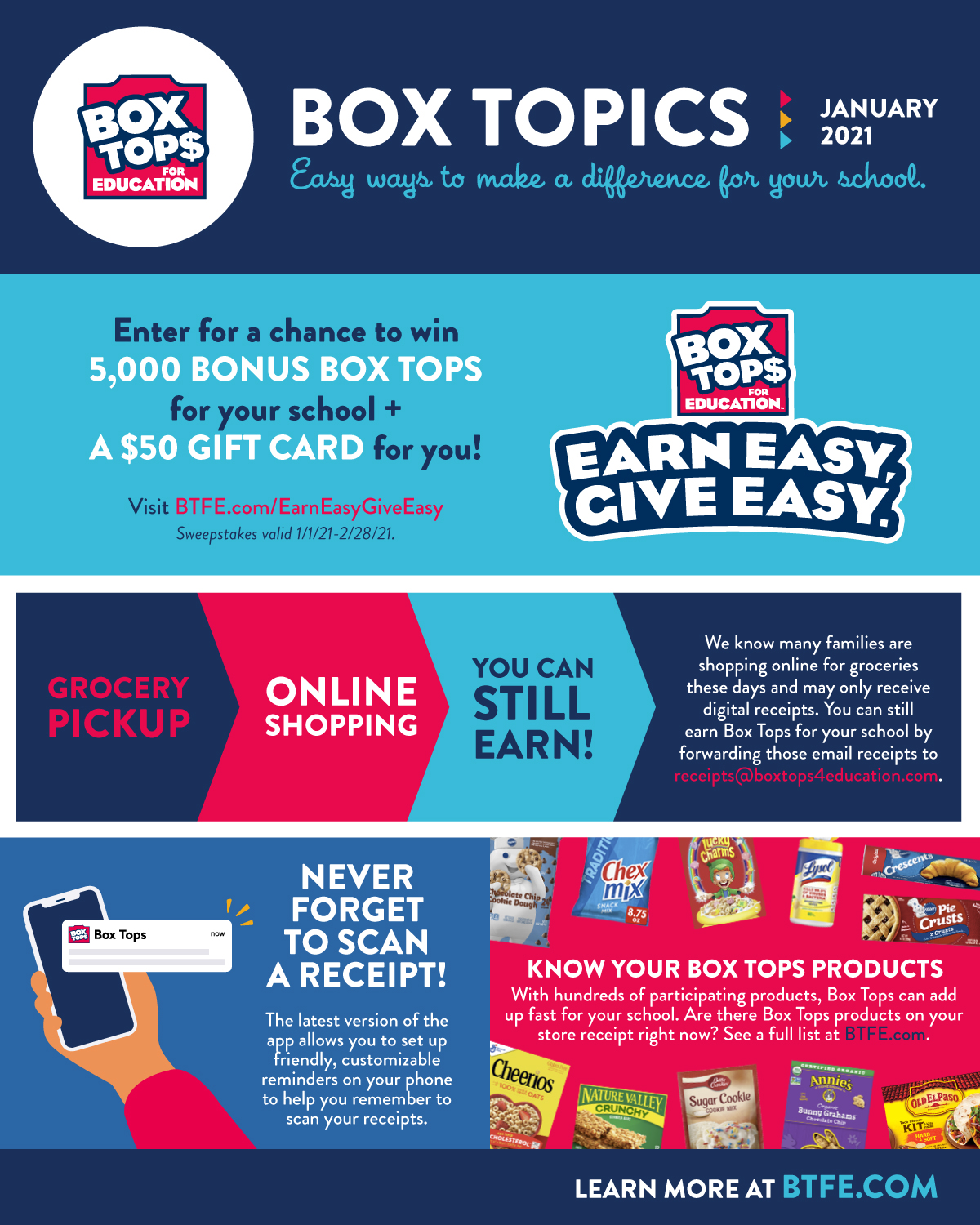 Box Tops for education, click for link to boxtops4education.com.