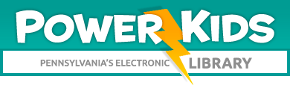 PowerKids Pennsylvania Electronic Library Logo