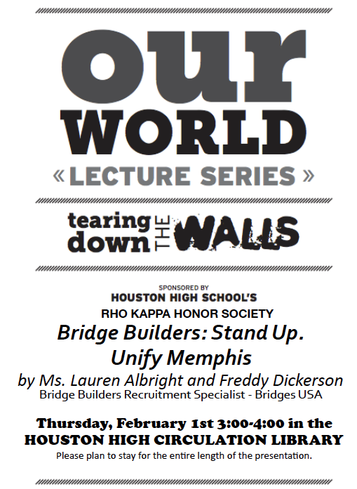 Our World Lecture Feb 1