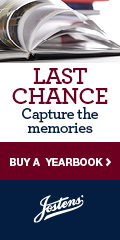 Last Chance for Yearbook February 27