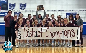 2019 Volleyball District Champs