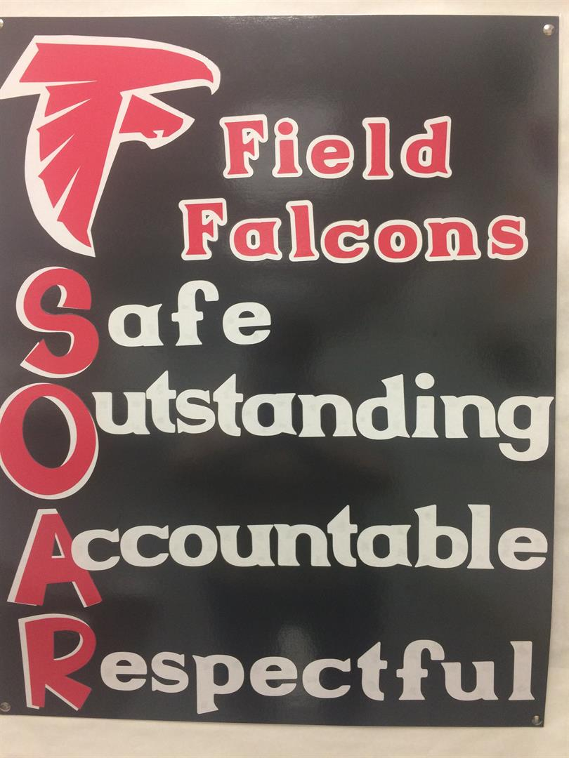 SOAR Poster. Safe, Outstanding, Accountable, Respectful