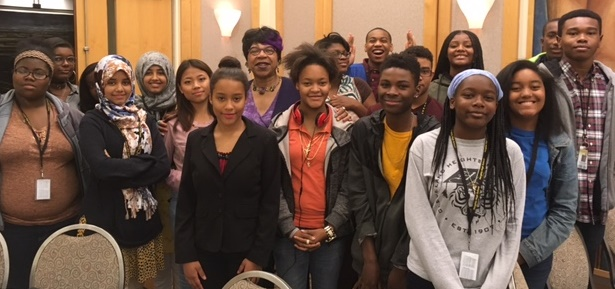 Heights High Leading Ladies and Free Speech club a tthe Cleveland City Club speaker series