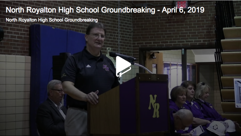 High School Groundbreaking Ceremony Video