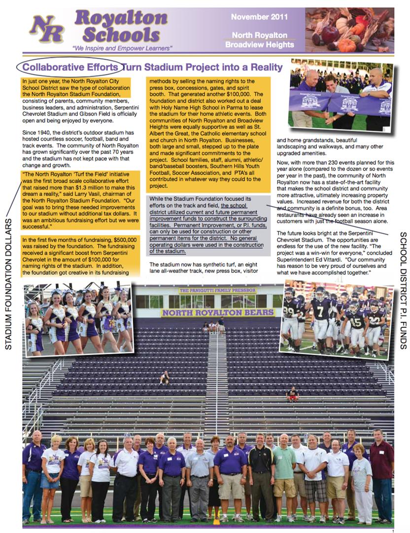 Your Royalton Schools newsletter