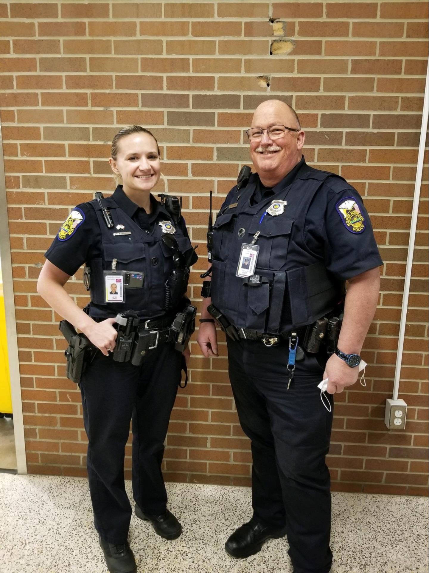 Officer Jon Karl and Officer Bell