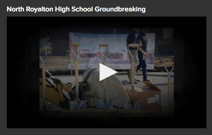 High School Groundbreaking Ceremony