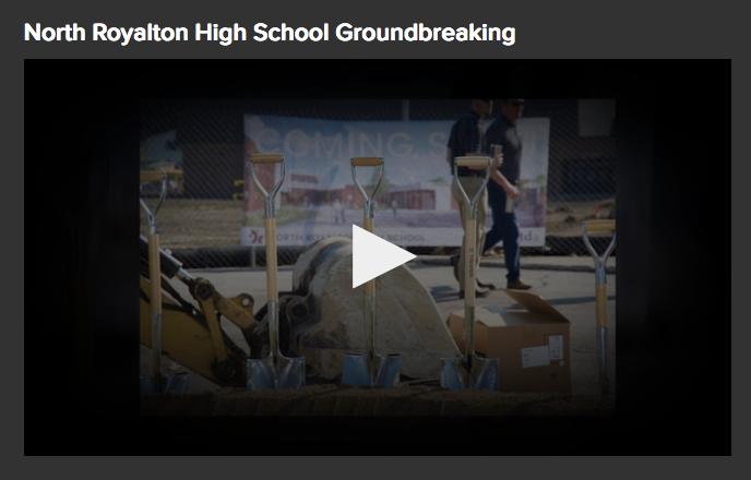 High School Groundbreaking video